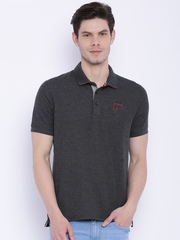 FILA Charcoal Grey Polo T-shirt