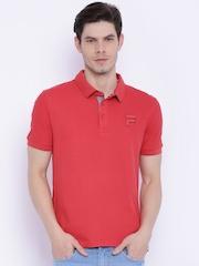 FILA Red Polo T-shirt