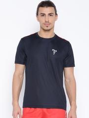 FILA Navy Polyester T-shirt