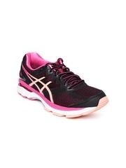 ASICS Women Black & Pink GT-2000 4 Running Shoes