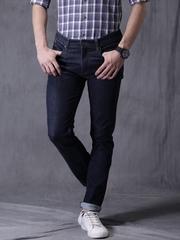 WROGN Navy Skinny Fit Jeans