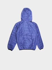 U.S. Polo Assn. Kids Boys Blue Hooded Puffer Jacket