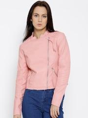 Vero Moda Pink Biker Jacket