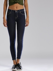 Levi's Navy Super Skinny Fit Jeans 710