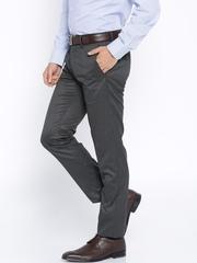 Van Heusen Charcoal Grey Ultra Slim Fit Formal Trousers