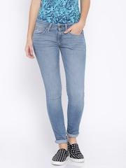 Wrangler Blue Ultra Skinny Fit Jeans
