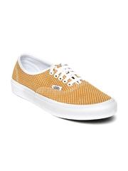 Vans Unisex Mustard Yellow Woven Sneakers