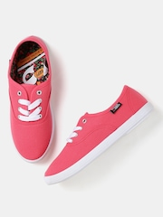 Kook N Keech Women Pink Canvas Shoes