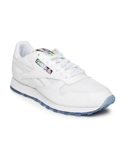 Reebok Men White CL LEATHER BF Sneakers