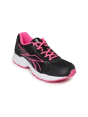 Reebok Women Black & Pink SONIC RUN Running Shoes