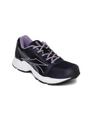 Reebok Women Black & Purple SONIC RUN Running Shoes