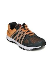 Reebok Women Charcoal Grey & Orange Meteoric Running Shoes