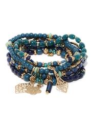 Accessorize Set of 10 Beaded Bracelets