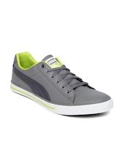 PUMA Unisex Grey Salz lll Sneakers