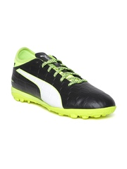 Puma Men Black Safety Football Shoes available at Myntra for Rs.4199