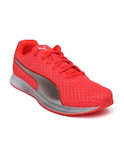 PUMA Women Neon Orange Running Shoes