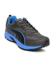 PUMA Men Charcoal Grey Running Shoes