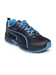 PUMA Men Black Atom III DP Running Shoes