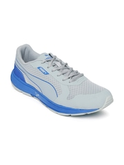 PUMA Men Grey & Blue Future Runner II DP Running Shoes