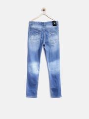 Gini & Jony Boys Blue Washed Jeans