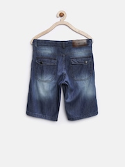 Gini & Jony Boys Blue Washed Denim Shorts