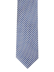 Park Avenue Blue Checked Patterned Tie
