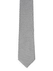 Park Avenue Grey Striped Tie