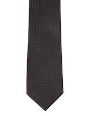 Park Avenue Black Patterned Tie