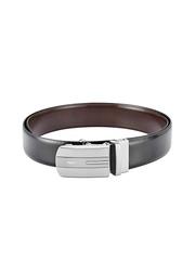Park Avenue Men Black & Brown Reversible Leather Belt