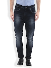 Mufti Black Carrot Fit Jeans