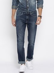 Wrangler Blue Millard Regular Fit Jeans