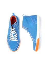 Clarks Boys Blue Club Pop Sneakers