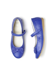Clarks Girls Navy Blue Leather Mary Janes