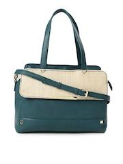 Caprese Teal Blue Handbag