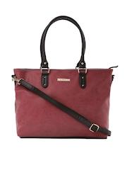 Caprese Burgundy Darla Shoulder Bag