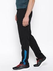 Reebok Black ESENTI Polyester Training Track Pants