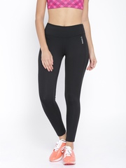 Reebok Black Fitted Training Tights