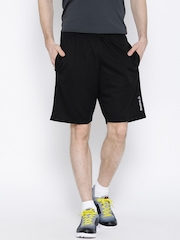 Reebok Black WOR Patterned Training Shorts