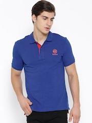 Reebok Classic Blue Pique Polo T-shirt