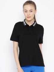Reebok Classic Black Polo T-shirt
