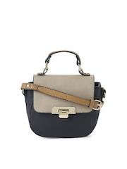 Accessorize Navy & Beige Sling Bag
