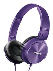 Philips Purple Headphones