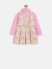 612 League Girls Pink & Green Clothing Set