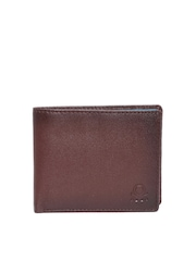 United Colors of Benetton Men Brown Genuine Leather Wallet