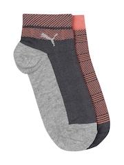 PUMA Women Set of 2 Ankle-Length Socks