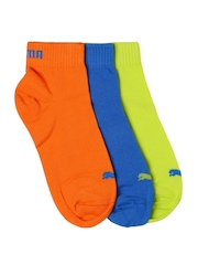 PUMA Unisex Pack of 3 Ankle-Length Socks