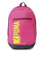 PUMA Unisex Pink Pioneer Backpack