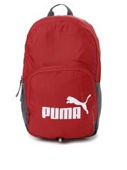 PUMA Unisex Red Phase Backpack