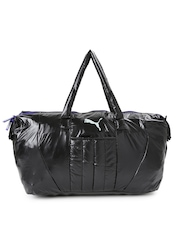 PUMA Women Black Duffel Bag