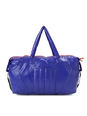 PUMA Women Blue Duffel Bag